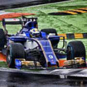 Formula 1 Monza 2017 Poster