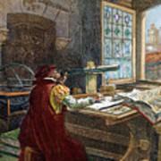 Galileo Galilei, 1564-1642 Poster