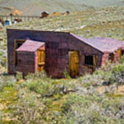 Homestead, Bodie Ghost Town Poster