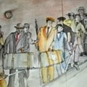 Italians  Ellis Island  Prohibition Album Poster