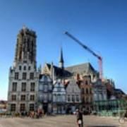 Mechelen Belgium Poster