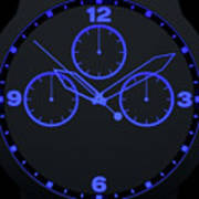 Neon Watch Face Poster