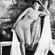 Nude Posing, C1900 Poster