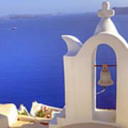 Oia - Santorini Poster by Joana Kruse