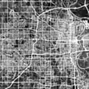 Omaha Nebraska City Map Poster