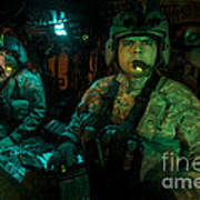 Pilots Sitting In The Cockpit Poster
