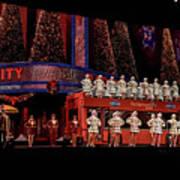 Radio City Rockettes New York City Poster