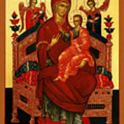 Saint Mary Christian Art Poster