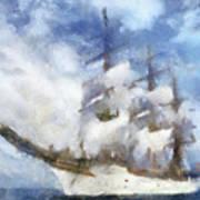 Ships Ahoy Poster