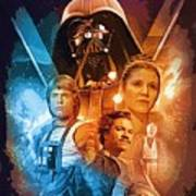 Star Wars Episode 2 Art Poster