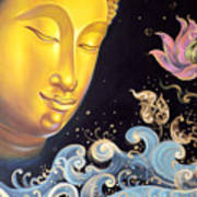The Light Of Buddhism Poster