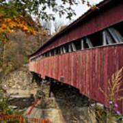 Vermont Covered Bridge Poster