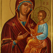 Virgin And Child Religious Art Poster