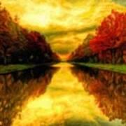 Painters Landscape Poster