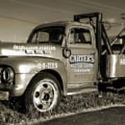 50's Wrecker Truck Poster