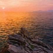 Romantic Landscape Poster