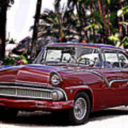 55 Ford Fairlane Poster