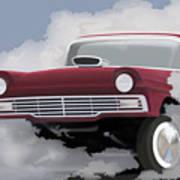 57 Ford Gasser Poster