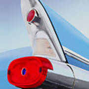 57 Pontiac Tail Fin Poster