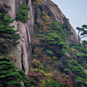 5782- Yellow Mountains Poster