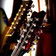 5796-001 Washburn - Guitar Poster