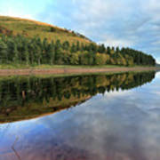 Autumn Derwent Reservoir Derbyshire Peak District Poster