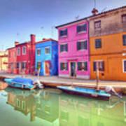 Burano Venice Italy Poster