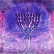 Chanukkah Lights Poster