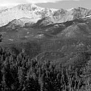 Fresh Snow On Pikes Peak Poster