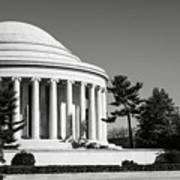 Jefferson Memorial In Washington Dc Poster