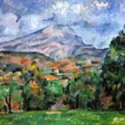 Montagne Sainte-victoire Poster