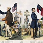 Presidential Campaign, 1864 Poster
