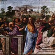Raphael La Disputa  Poster
