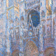 Rouen Cathedral, West Facade Poster