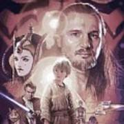 Star Wars Characters Poster Poster