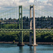 Tacoma Narrows Bridge Poster