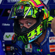 Valentino Rossi The Doctor  Poster