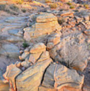 Valley Of Fire Sunrise Poster