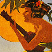 Vintage Hawaiian Art Poster