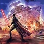 Vintage Star Wars Art Poster