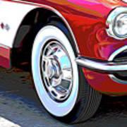 61 Corvette Poster