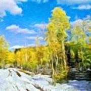 Landscape Paintings Canvas Prints Nature Art  Poster