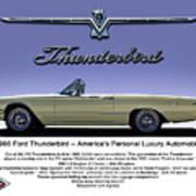 '66 Thunderbird Convertible Poster