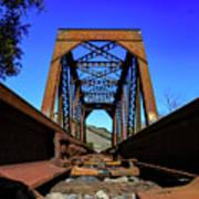 6696 Railroad Bridge Poster