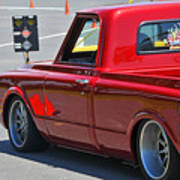 '67 Chevy C10 Awaits Green Light Poster