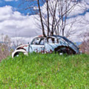 67 Volkswagen Beetle Poster