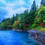 Nature Landscape Light Poster