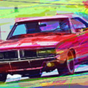 69 Dodge Charger  Poster