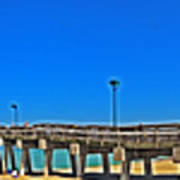 6x1 Venice Florida Beach Pier Poster