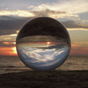 7-24-16--4250 Don't Drop The Crystal Ball, Crystal Ball Photography Poster